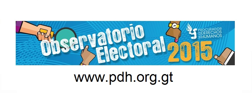 OBSERVATORIO ELECTORAL - PDH