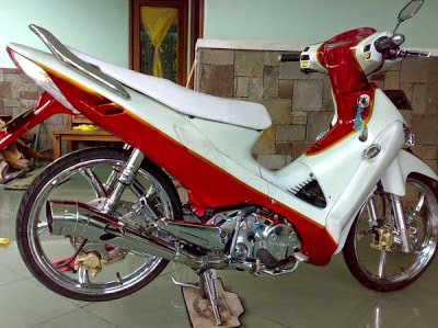 Top 12 Foto Modifikasi Honda Supra X 125