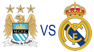 Prediksi Skor Manchester City VS Real Madrird 22 November 2012