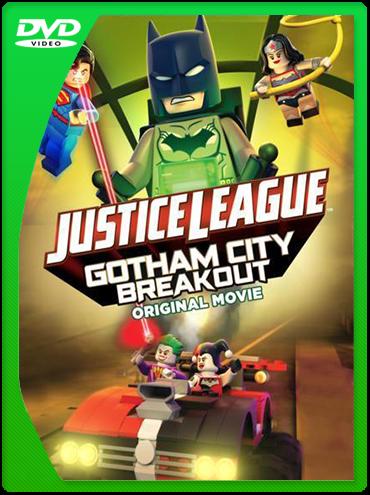 Liga de la Justicia LEGO Escape en Ciudad Gotica DVDRip Latino
