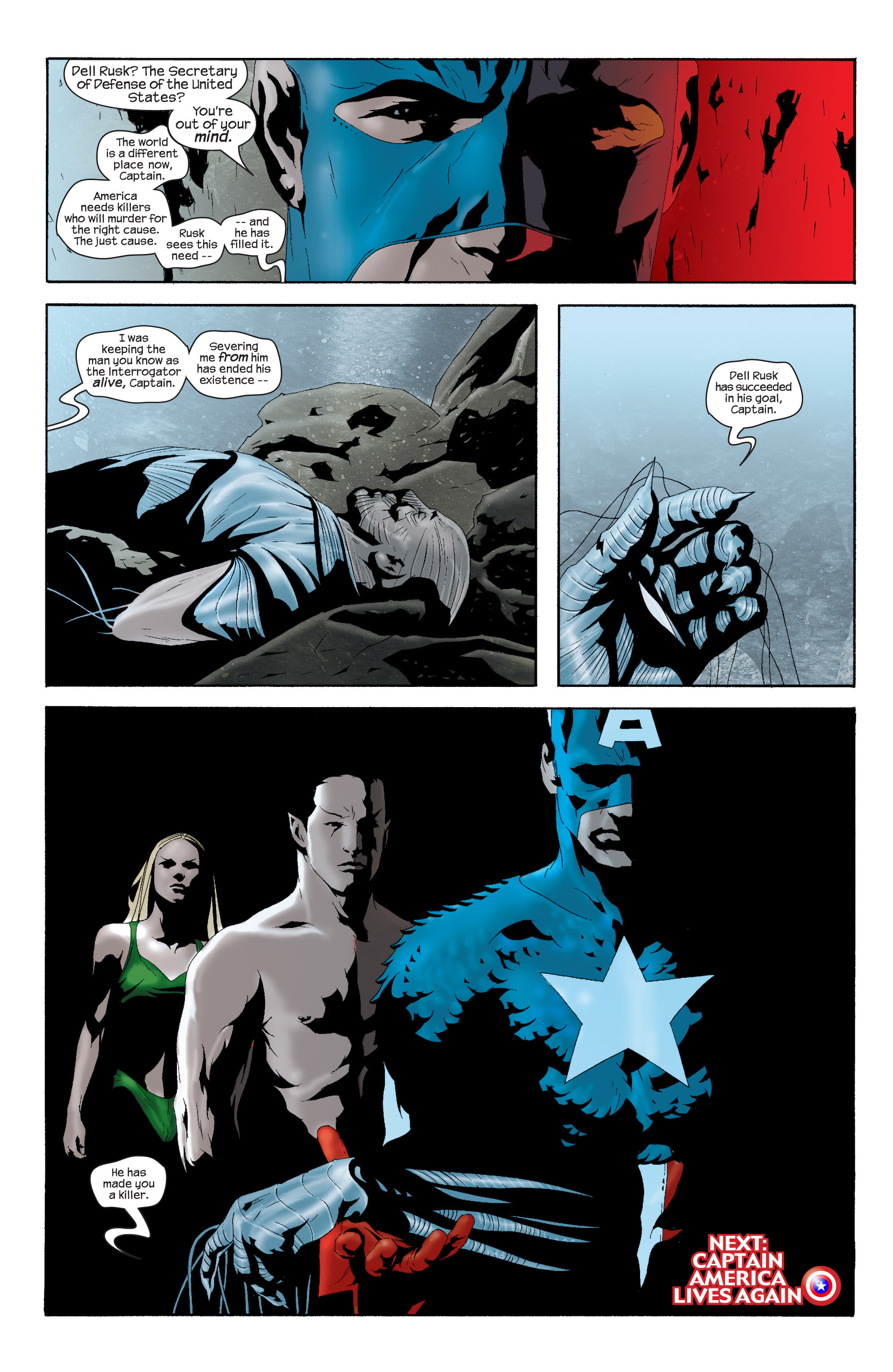 Captain America (2002) Issue #16 #17 - English 24