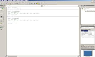 Scrittura codice sulla dll