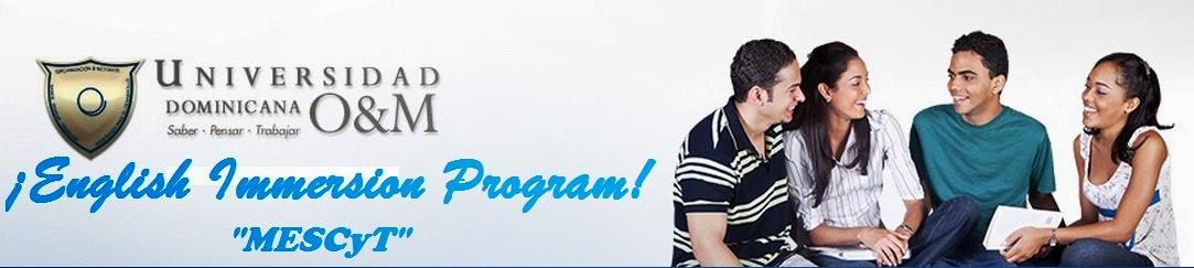 O&M English Immersion Program
