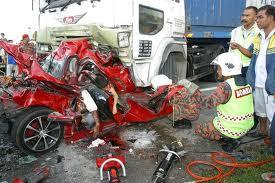 Antara pic kemalangan jalan raya