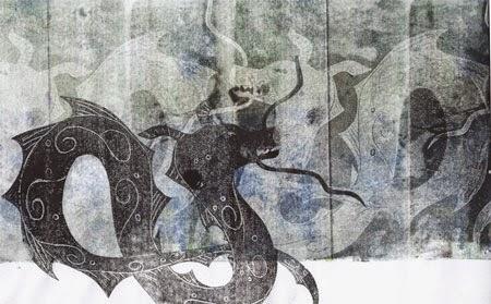 Dragon Céladon Nathalie Le Reste