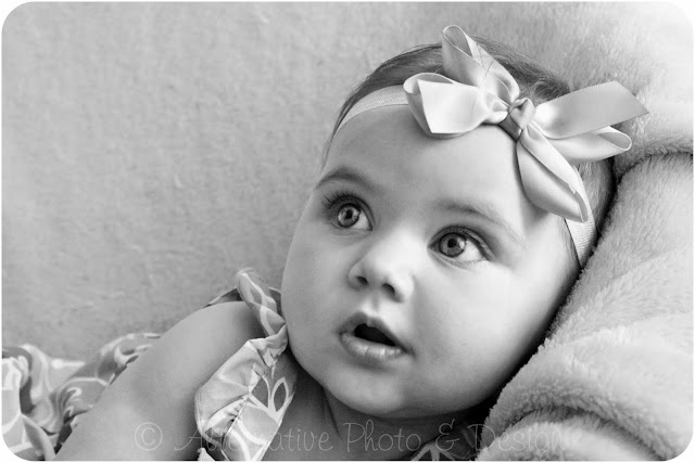 Beautiful {B} 6 Month Session | Baby Photographer Janesville, WI
