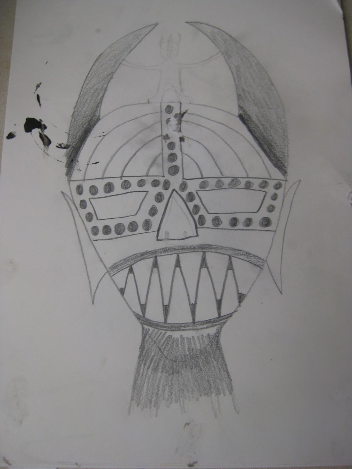 LA Creative Design - Recent Work: Paper Mache African Masks
