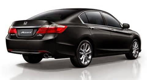 Harga Honda All New Accord  Untuk memboyong pulang Honda All New Accord jenis 2. 4 VTi, Anda mesti mempersiapkan uang sebesar Rp 499 Juta. Sedang, Honda All New Accord jenis 2. 4 VTi-L di bandrol mulai dengan harga Rp 549 juta.
