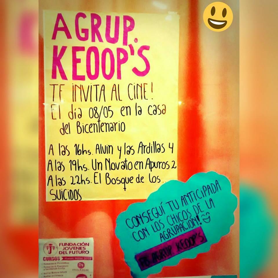 Keoop's llega al cine con estrenos🎬 Mira👇🏼