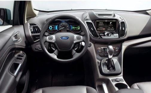 2015 Ford C-Max Minivan Interior