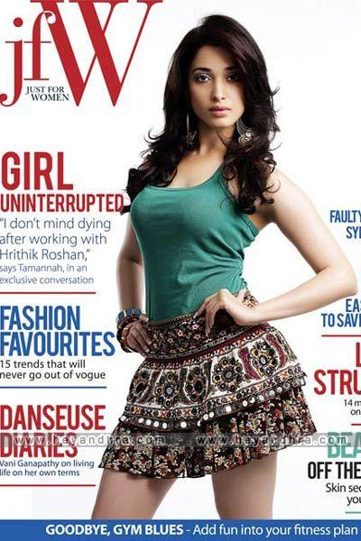Tamanna Bhatia JFW Magazine Hot Photoshoot Pics