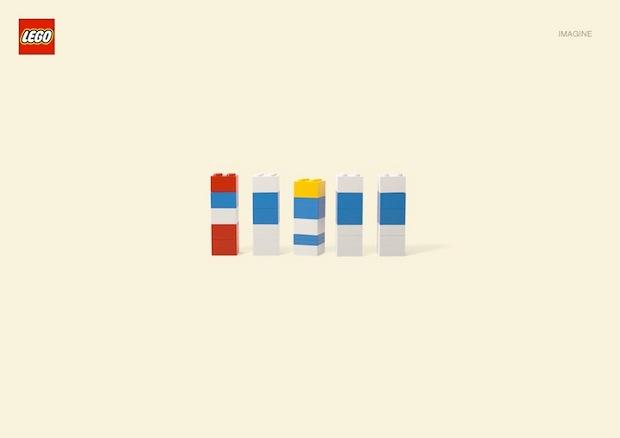 Nueva campaña Lego Jung Von Matt. Los pitufos