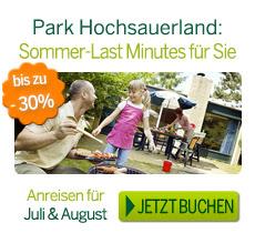 Center Parcs Hochsauerland Angebote