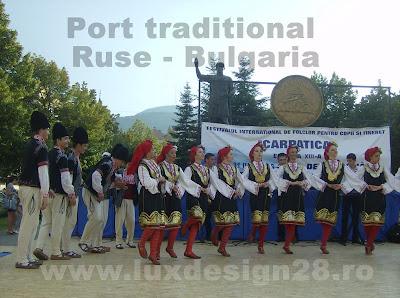 Alte custume traditionale populare din zona orasului Ruse - tara Bulgari