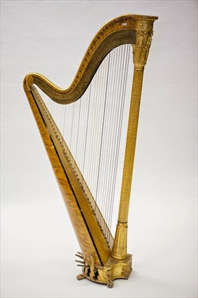 Eight Pedal Harp