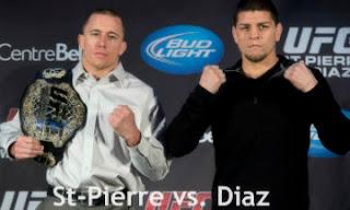 St-Pierre vs Diaz