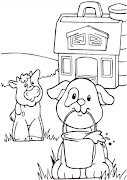 Dibujos de perros para colorear perro vaca