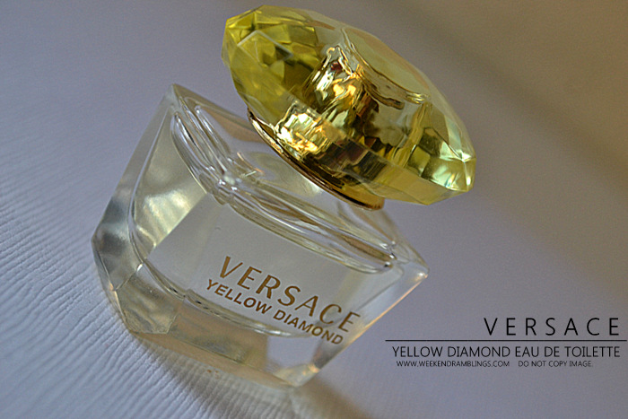 Versace Yellow Diamond Eau de Toilette EDT Designer Fragrances Perfumes for Women Reviews Ingredients Makeup Beauty Indian Blog