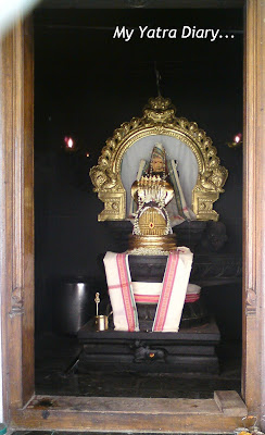 Lord Shiva - The main deity of the Temple in the Dayanand Ashram in Rishikesh