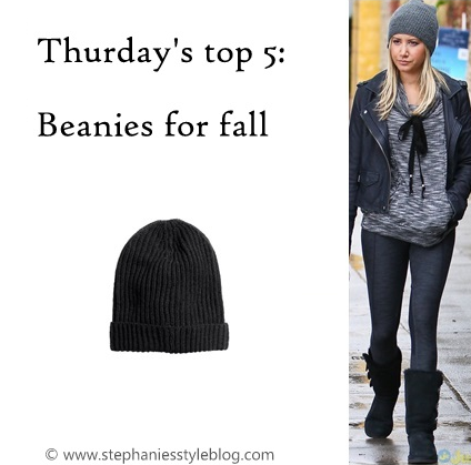 beanie, ashley tisdale, fall
