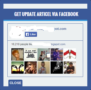 Pop up Like box Facebook di blogger