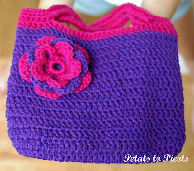 Crochet Felted Purse Pattern