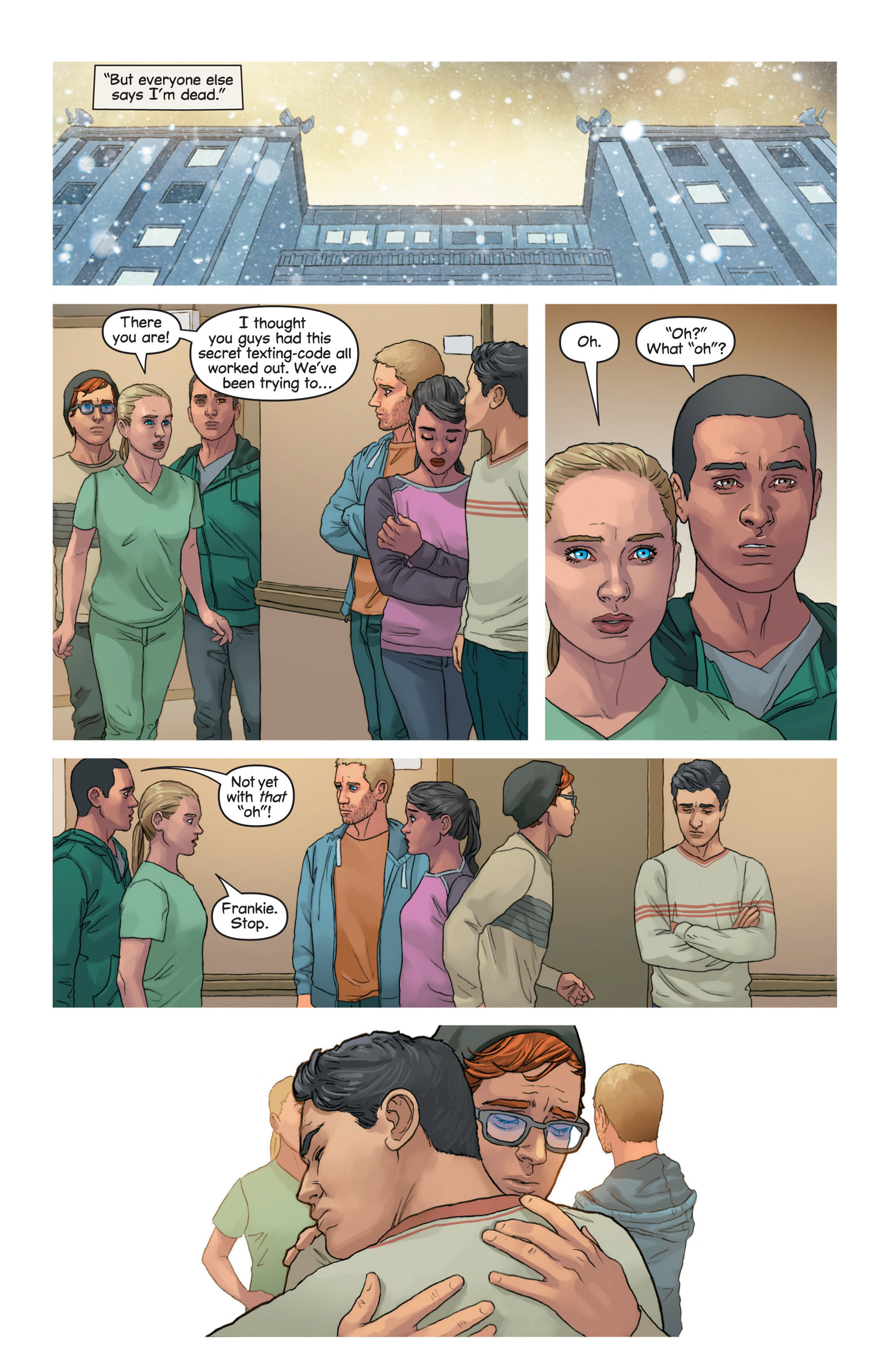 Read online Mind The Gap comic -  Issue #15 - 17