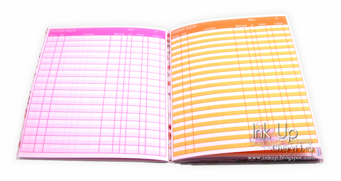 Ink Up: Practical and Pretty: A Handbound Checkbook Register