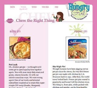 Style Athletics Hungry Girl Chicken Pot Pie Recipe Healthy Substitution