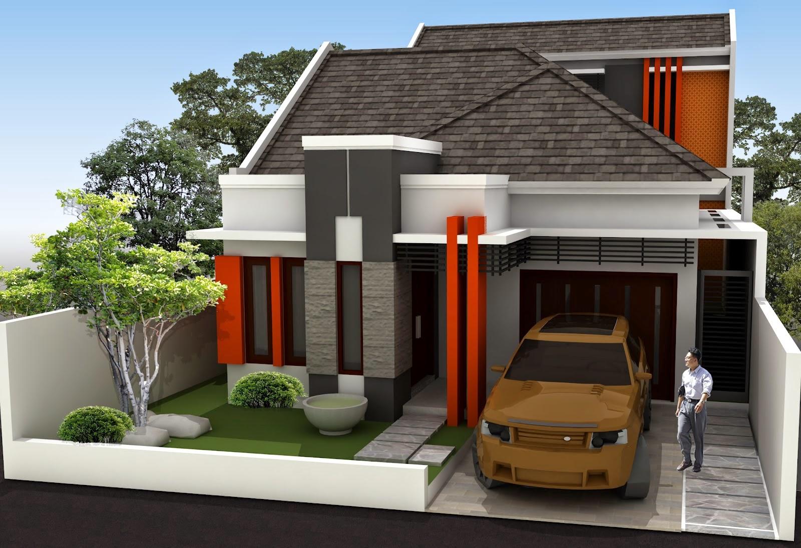Desain Gambar Dan Contoh Rumah Minimalis Type 54 Ide Desain