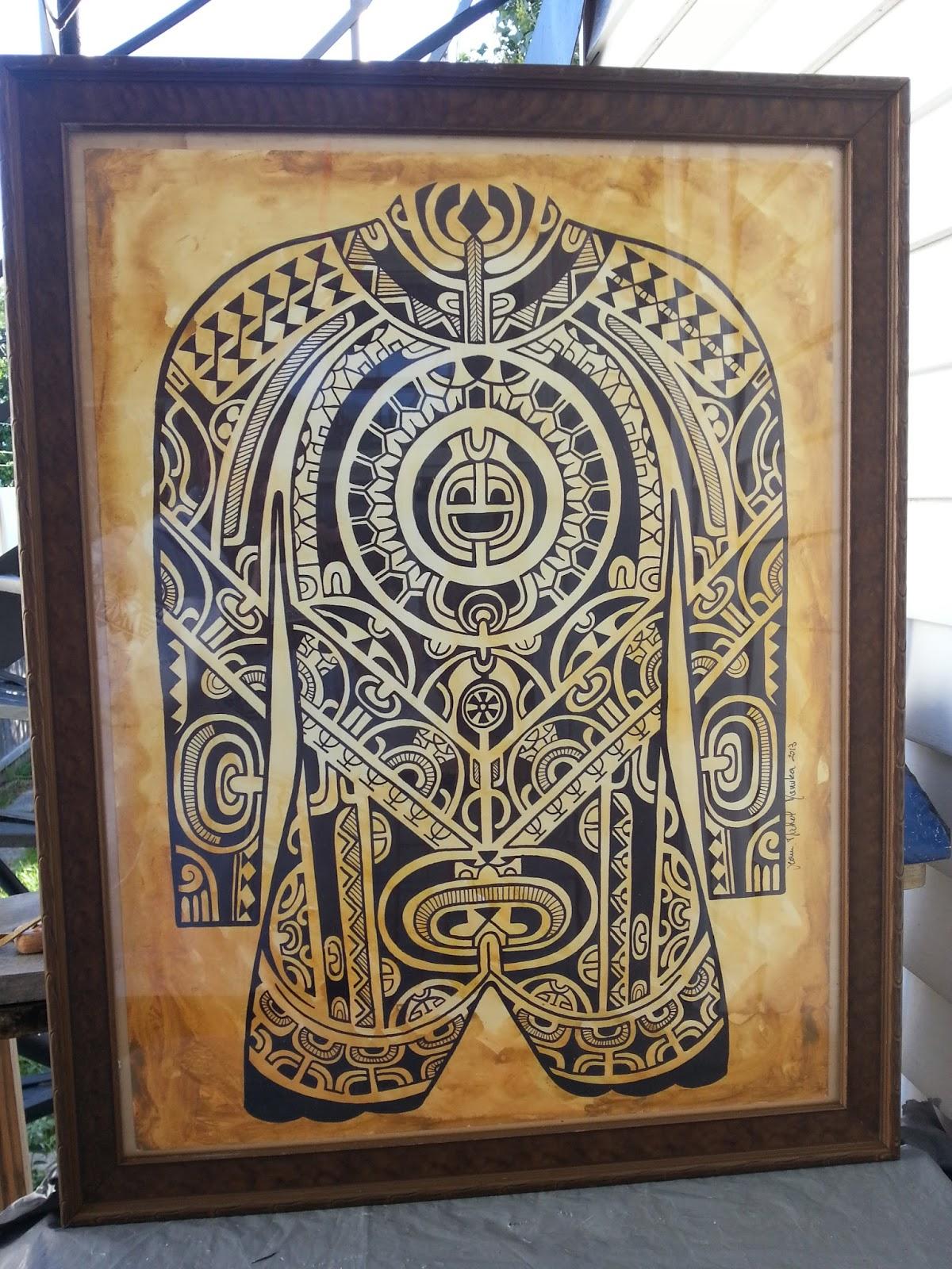 Motif Polynésien Pour Tatouage - Modèles tatouage Polynésiens et Maoris Tattoo Tatouage