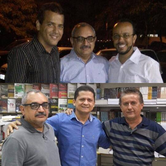 Pastores: Carlos Kleber, Leonardo Luz, Glevison (Luz e Vida) e Carlos Formiga.