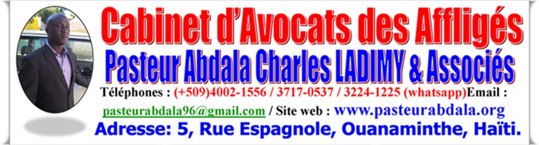Pasteur Abdala au Service de la Communauté de Ouanaminthe!