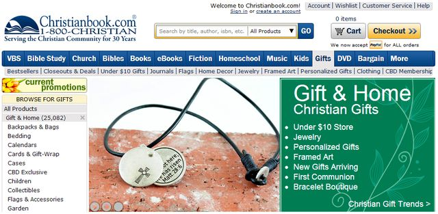 christian gifts ideas