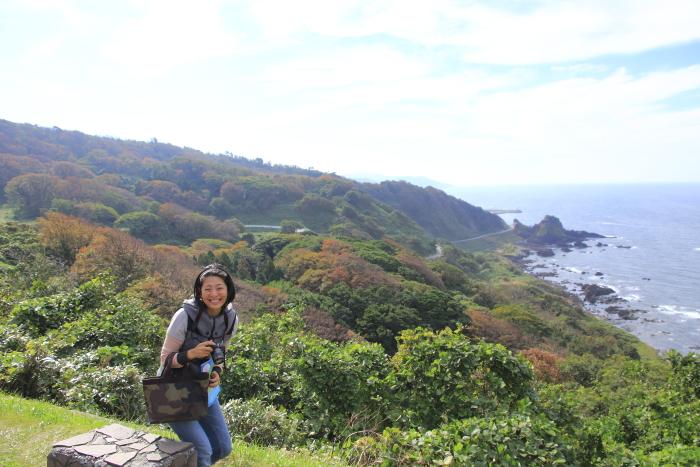 能登半島(石川県)の絶景ドライブコース『堂が崎』. The best driving course of on noto peninsula, ishikawa prefecture.