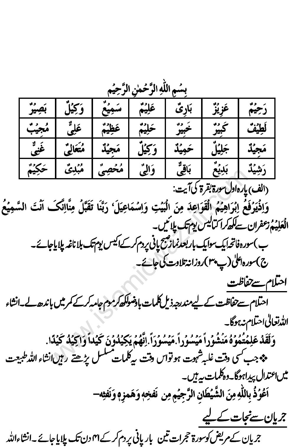Powerful Wazifa For Height In Urdu