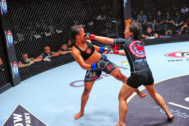 ONE FC 11 Total Domination Ann Osman vs. Sherilyn Lim female MMA