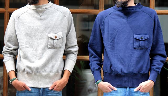 "Nigel Cabourn ""Basic Sweatshirt"" size 46 17,280yen"