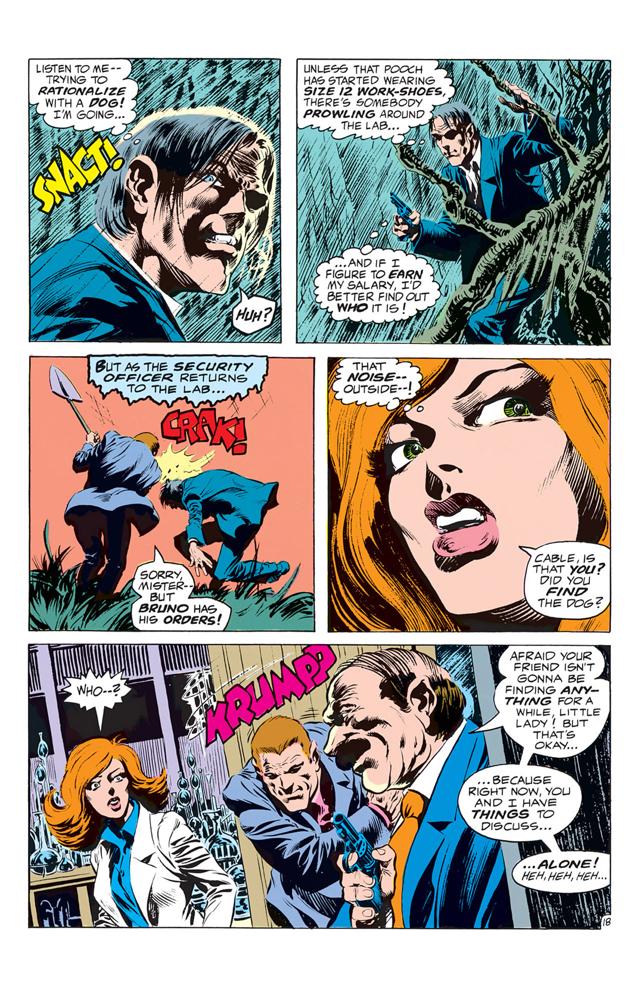 Swamp Thing (1972) Issue #1 #1 - English 19