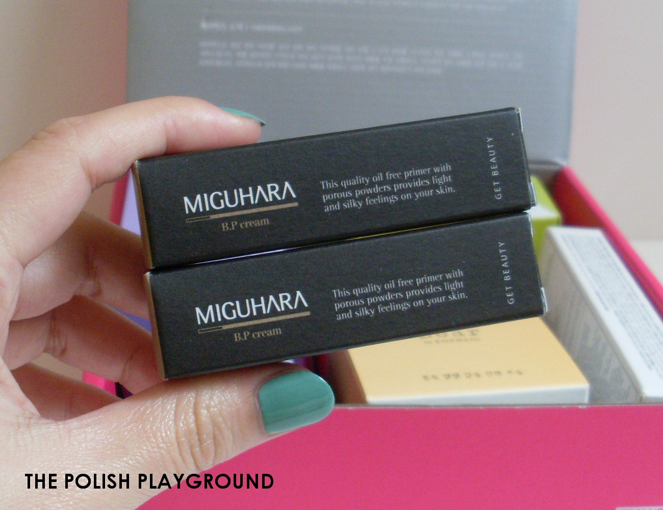Memebox Luckybox #5 Unboxing - Miguhara B.P Cream