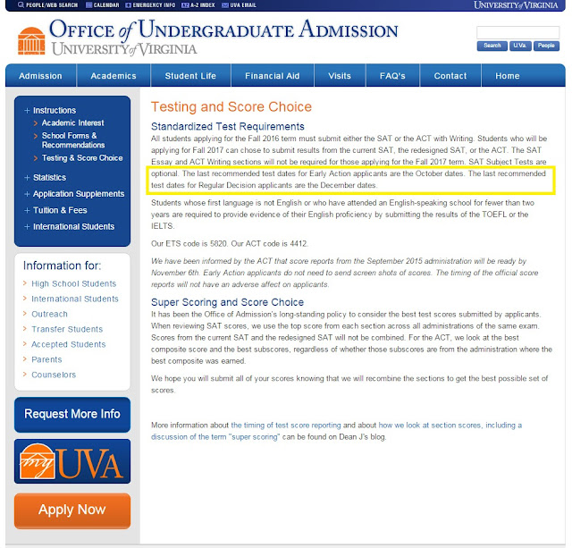 Uva Admissions Essay