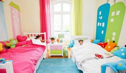 Fotos de dormitorios para ni o y ni a dormitorios for Habitacion nino y nina