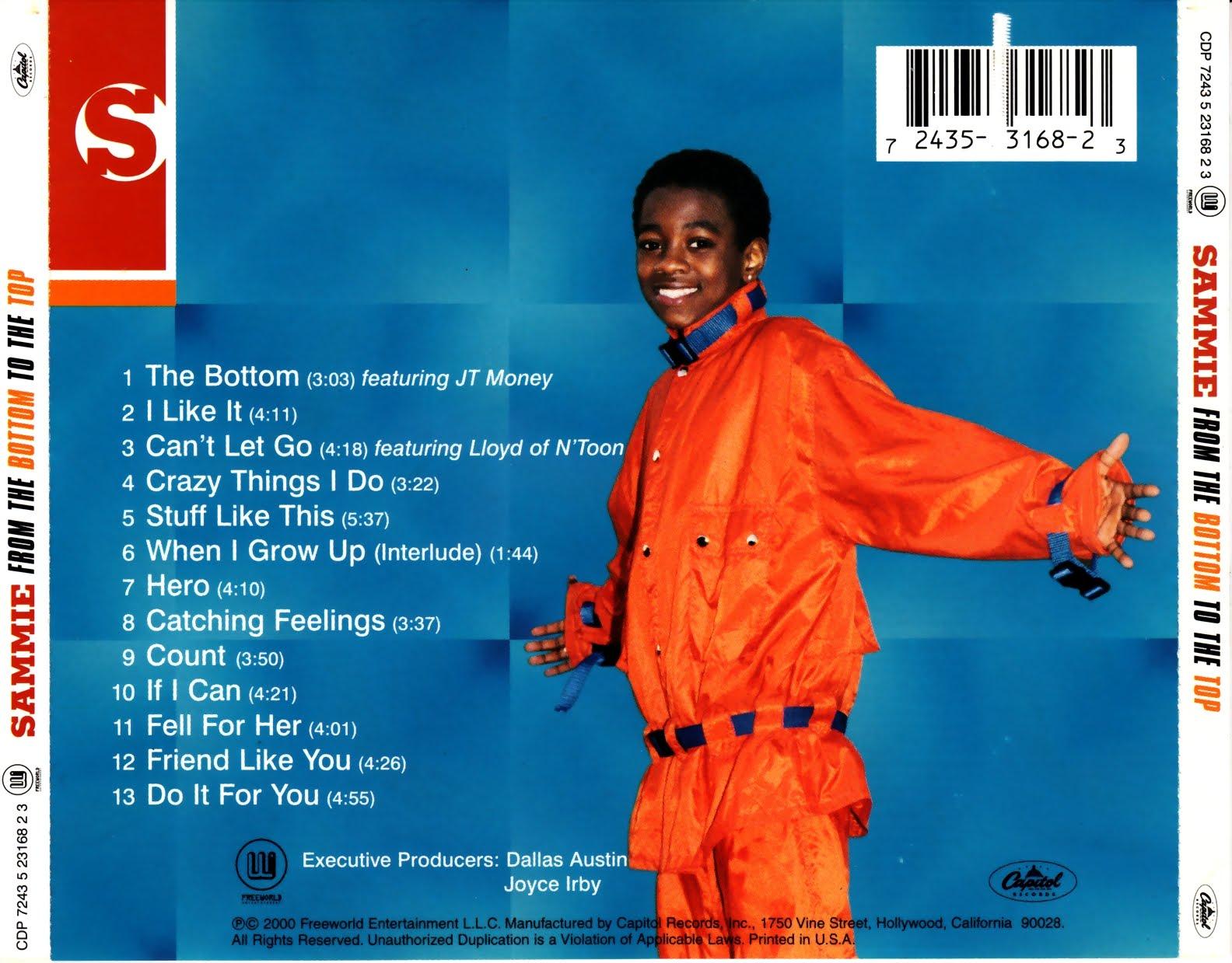 sammie from the bottom to the top cd