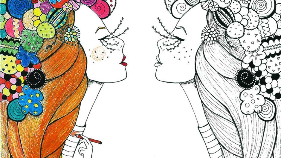 Fashion Victim Lowcost: Llegan las Chicas de papel para colorear