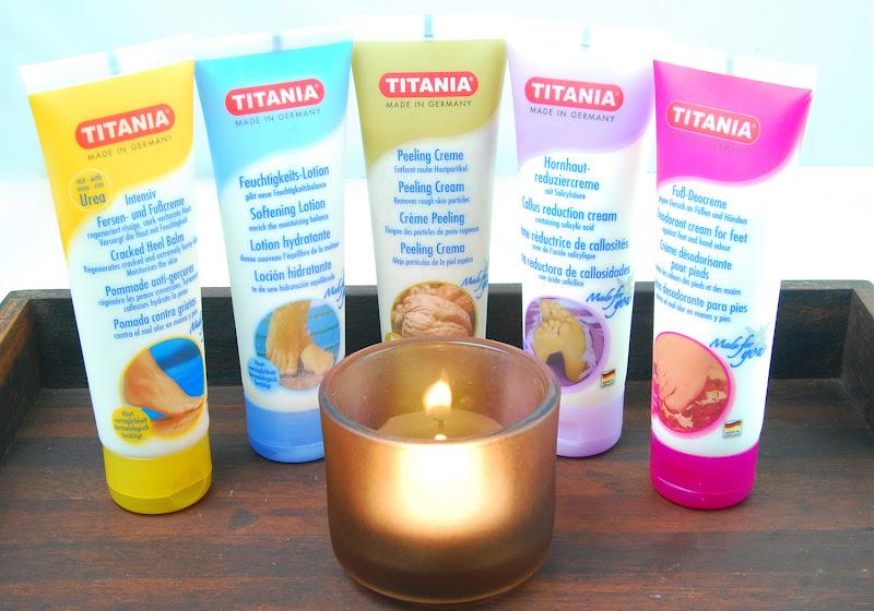 titania foot cream