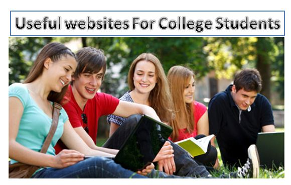 Useful websites for college students,best websites for college students