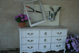 Outdoor country dresser - Sold
