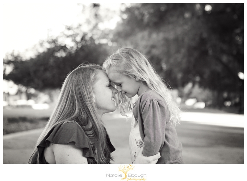 mother/daughter portrait