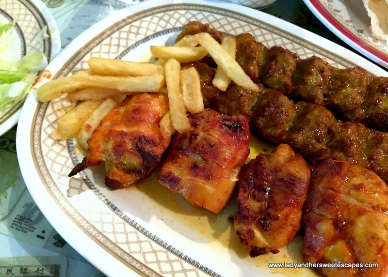 mix grill at Ostadi Restaurant in Dubai