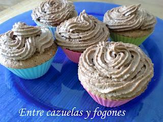 Cupcakes de chocolate (Mis primeros cupcakes)